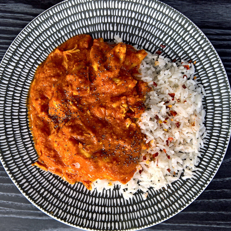 Butter Chicken & Rice - 350g - Foddies
