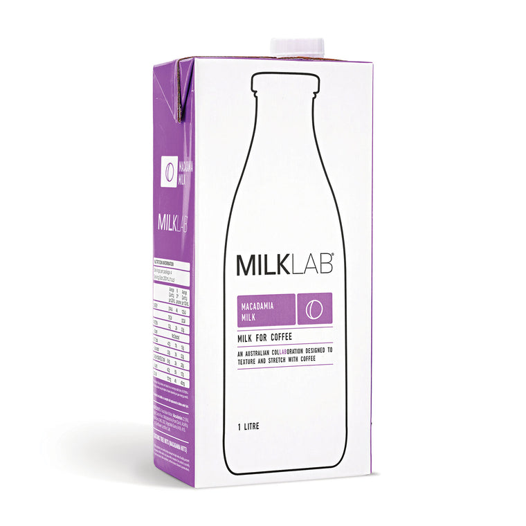 Milk Lab - Macadamia Milk (1L) - Foddies Low FODMAP