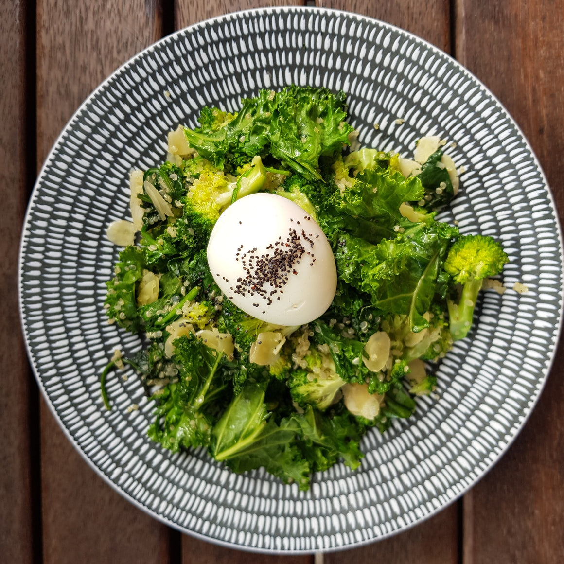 Quinoa Kale Salad - 300g - Foddies Low FODMAP