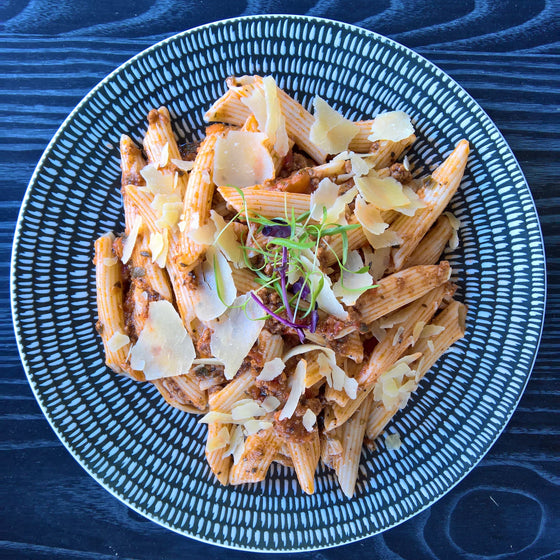 Penne Bolognese - 300g - Foddies Low FODMAP