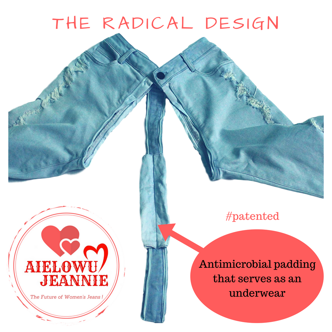 Aielowu Jeannie - Patented Radical Design