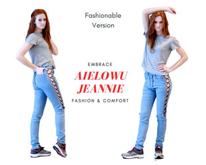 Aielowu Jeannie Patented Jeans Women - Designer Collection