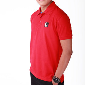 Red Polo T-shirt Short Sleeve - Men (side view)