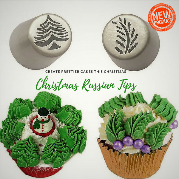 Christmas Russian Frosting Tips