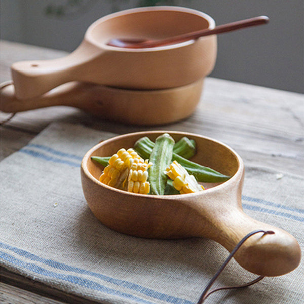 Fried Kitchen™ Wooden Side Dish Bowl