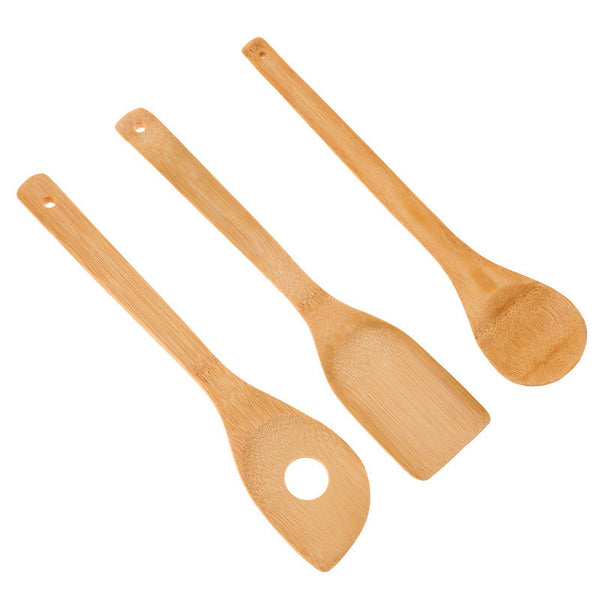 Bamboo Cooking Untensil Collection