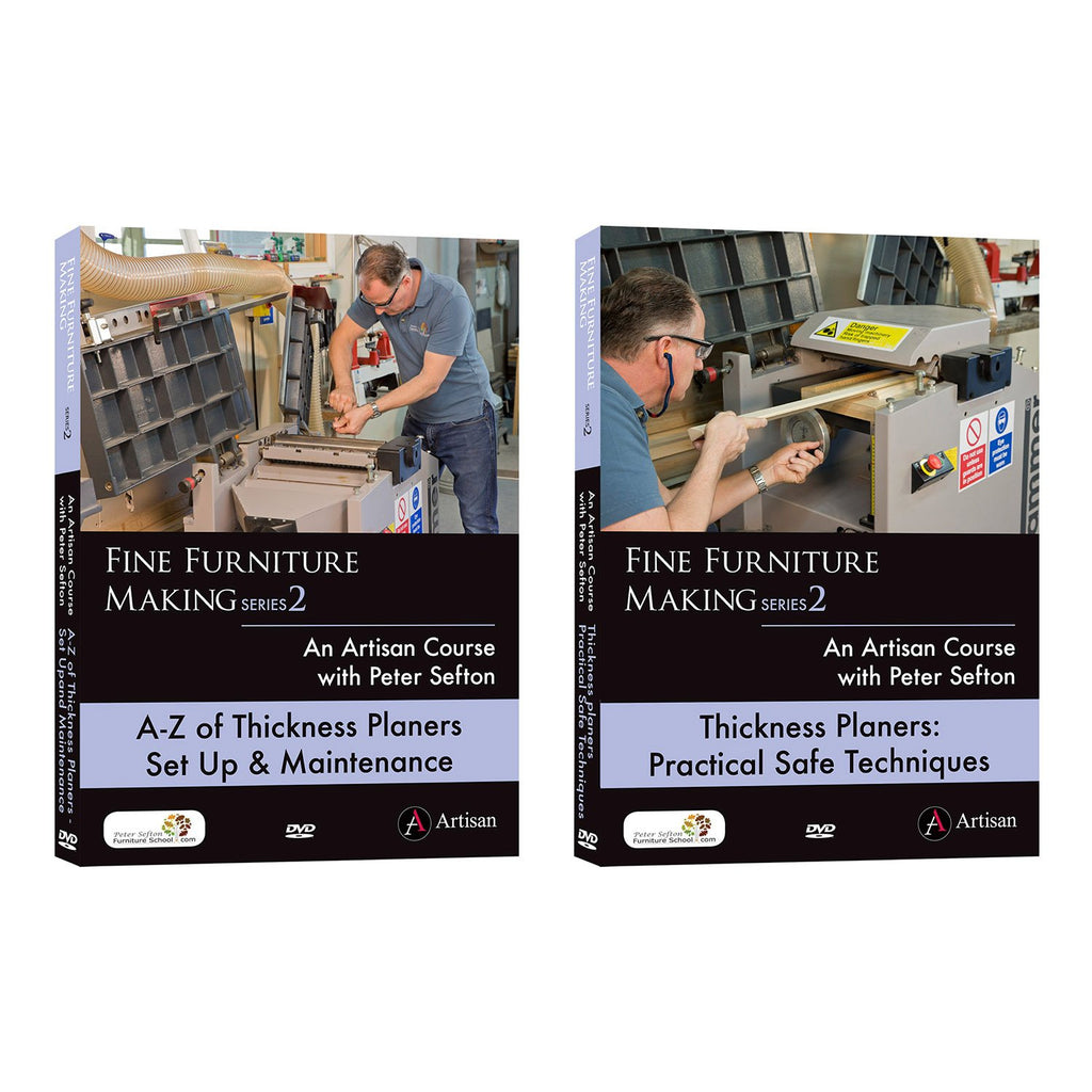 Peter Sefton's Ultimate Thickness Planer Series - Set of 2 DVDs