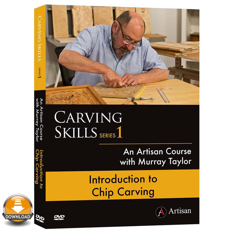 Introduction to Chip Carving - Murray Taylor (Download)
