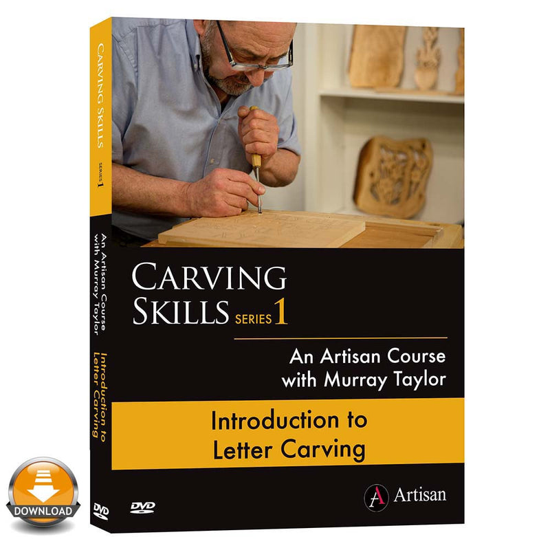 Introduction To Letter Carving - Murray Taylor (Download)
