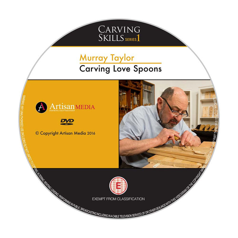 Carving Love Spoons - Murray Taylor (DVD)