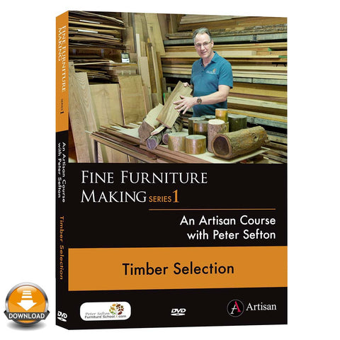 Peter Sefton's Fine Furniture Making Series
