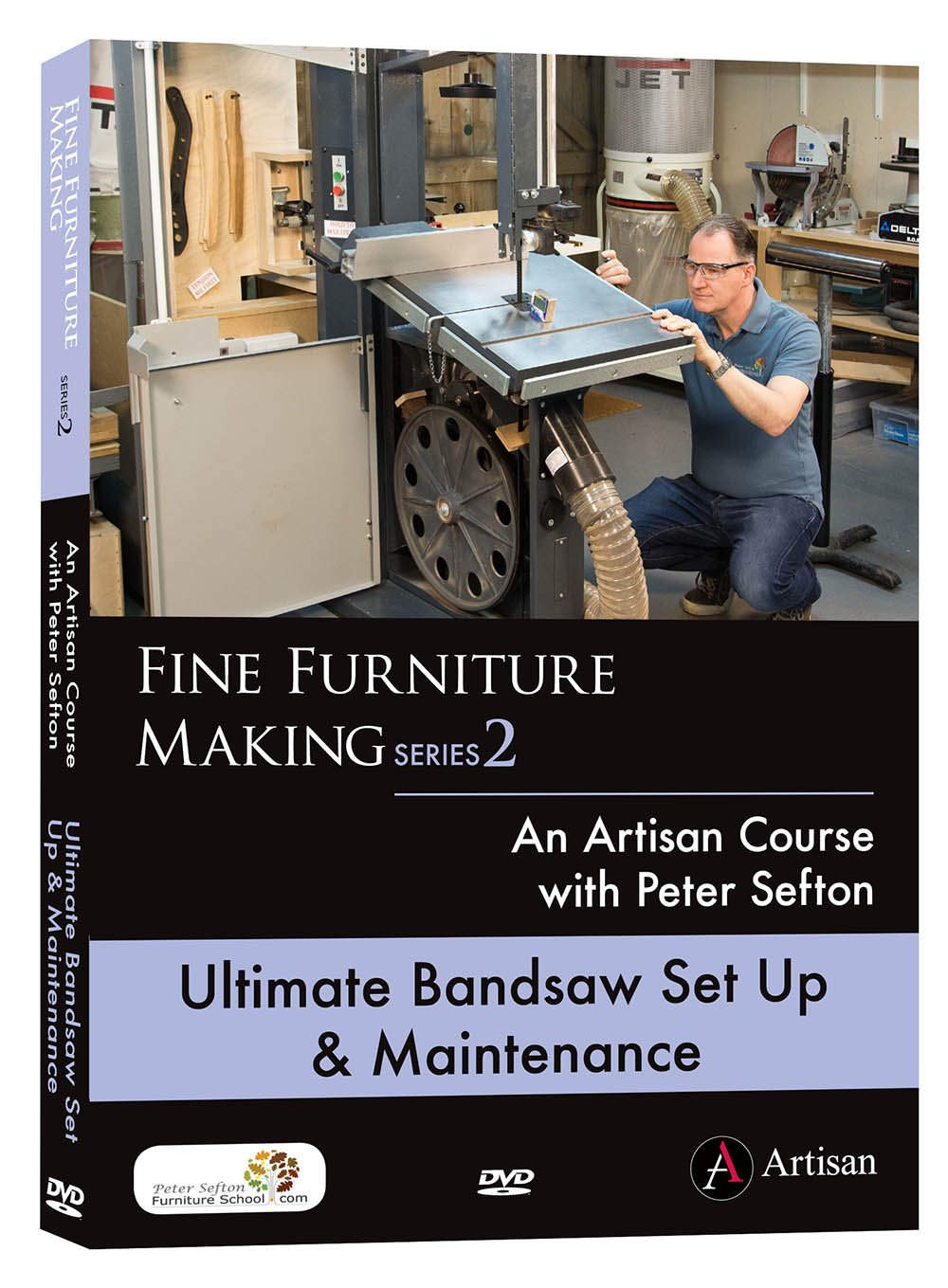 Ultimate Bandsaw Set Up & Maintenance - Peter Sefton (DVD)