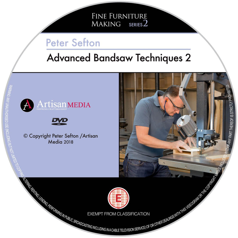Peter Sefton's Ultimate Bandsaw Series - Set of 3 DVDs