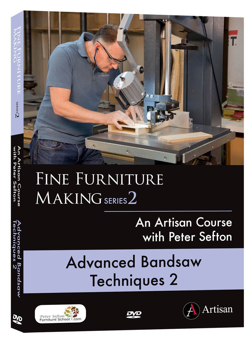 Advanced Bandsaw Techniques 2 - Peter Sefton (DVD)