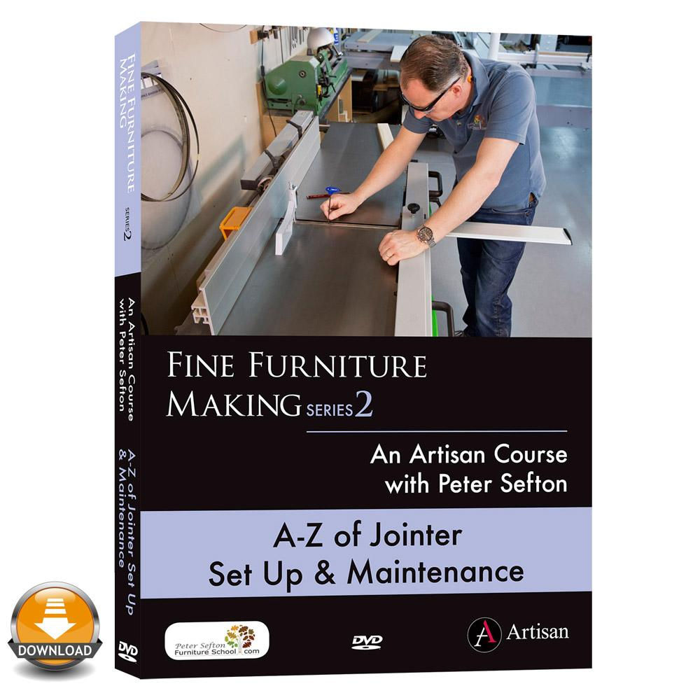 A-Z of Jointer Set Up & Maintenance - Peter Sefton - (Download)