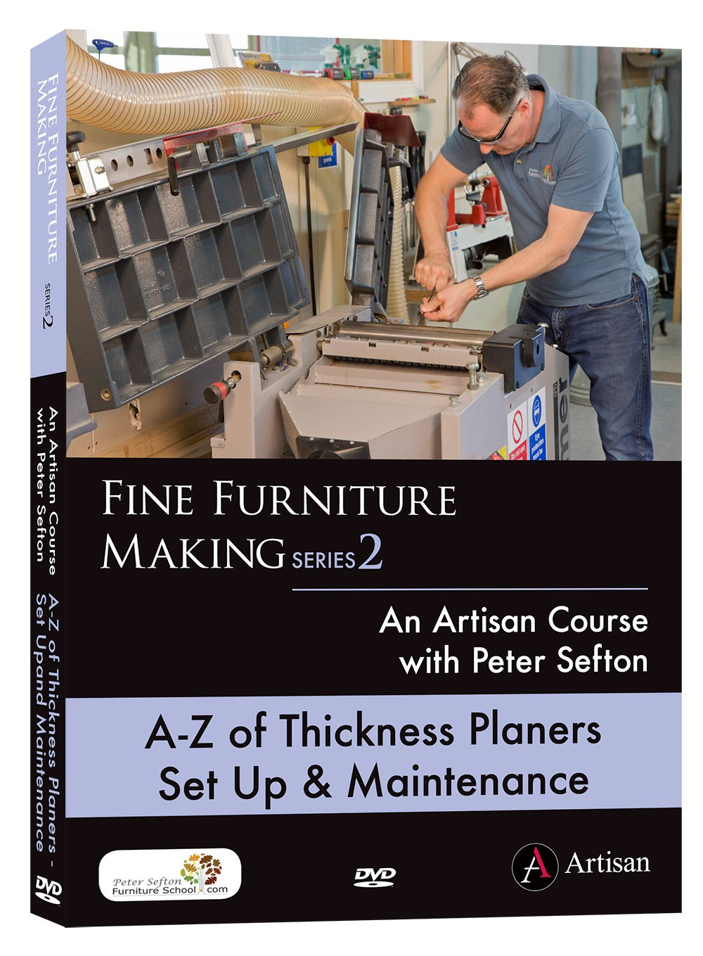 A-Z of Thickness Planer Set Up & Maintenance - Peter Sefton - (DVD)