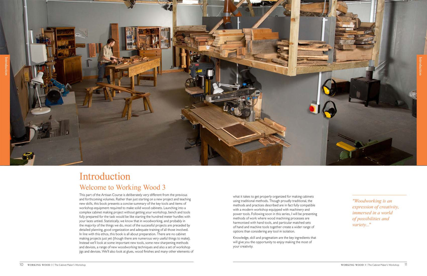 working wood 3: the cabinet maker's workshop (book)