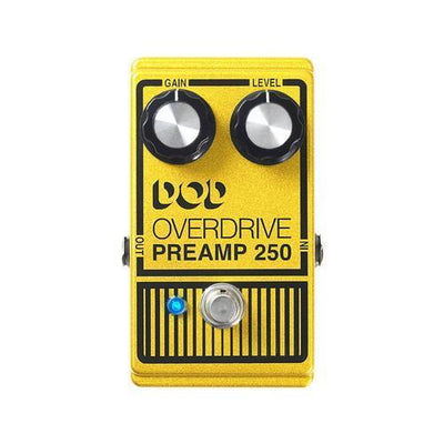 Overdrive Preamp/250  DOD - PEDALDIG (エフェクターレンタル)