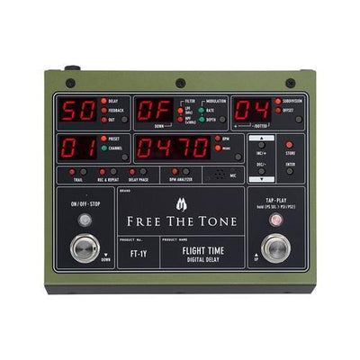 Flight Time  Free The Tone - PEDALDIG (エフェクターレンタル)