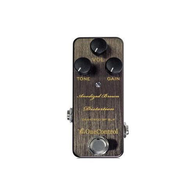 Anodized Brown Distortion  One Control - PEDALDIG (エフェクターレンタル)