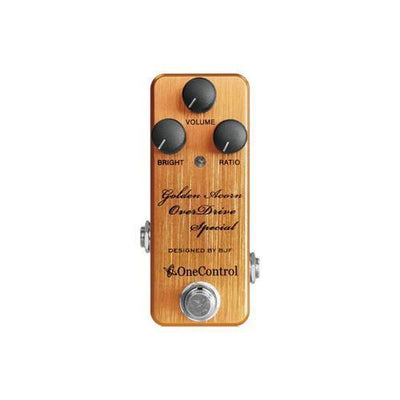 Golden Acorn OverDrive Special  One Control - PEDALDIG (エフェクターレンタル)