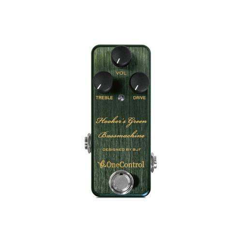 Hooker's Green Bass Machine  One Control - PEDALDIG (エフェクターレンタル)