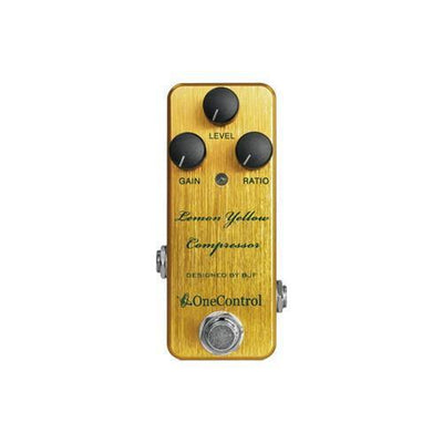 Lemon Yellow Compressor  One Control - PEDALDIG (エフェクターレンタル)