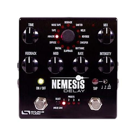 Nemesis Delay  Source Audio - PEDALDIG (エフェクターレンタル)