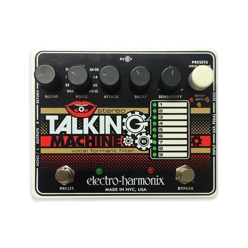 Stereo Talking Machine  Electro-Harmonix - PEDALDIG (エフェクターレンタル)