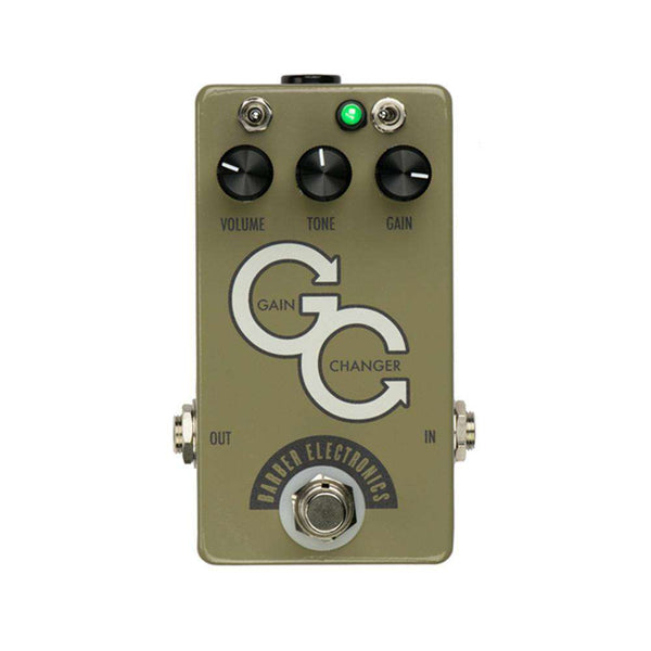 Gain Changer SR (Olive Grey)  Barber Electronics - PEDALDIG (エフェクターレンタル)
