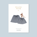 """Maman et Fille"" Bibiana Skirt pack of two paper patterns"