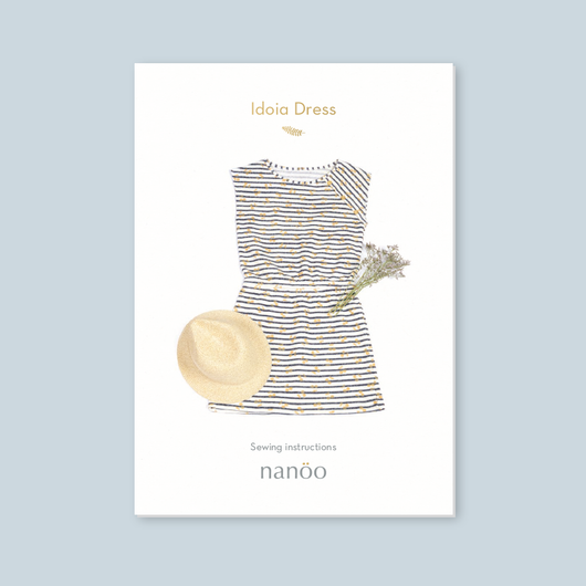 Idoia dress paper pattern
