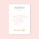 """Maman et Fille"" Top and dress pack of two paper patterns"