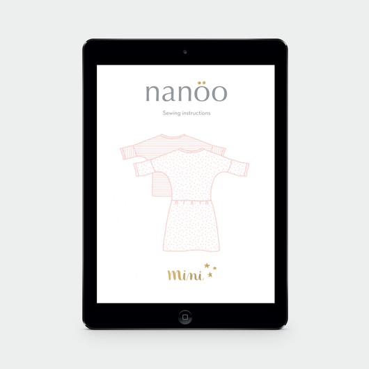 MINI: Top and dress Nanöo pattern to download
