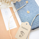Kit Clarice Cotton-Linen Denim