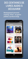 Application livre audio gratuite sur Google Play