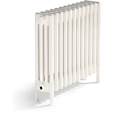 Bisque Classic 4 Column Radiator - 475mm High x 1406mm Wide