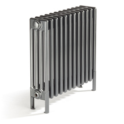 Bisque Classic 4 Column Radiator - 675mm High x 854mm Wide