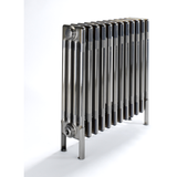 Bisque Classic 4 Column Radiator - 675mm High x 486mm Wide