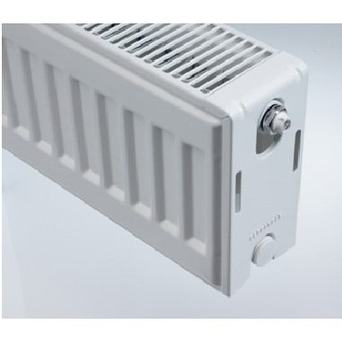 Compact Double Panel Low Sill Radiator - 200mm High x 1000mm Wide
