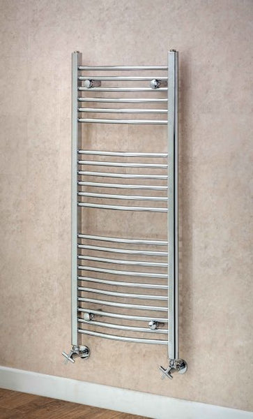 Argyll Curved Towel Rail - 1800mm H x 600mm W