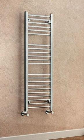 Argyll Straight Towel Rail - 800mm H x 400mm W