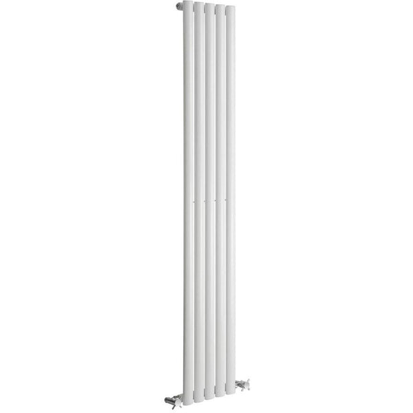 Cove Single Vertical Radiator - 1800mm High x 295mm Wide