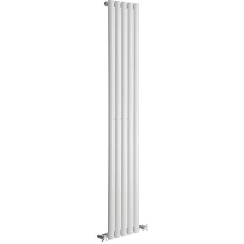 Cove Single Vertical Radiator - 1800mm High x 413mm Wide