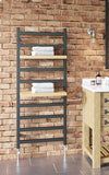 Fender Towel Rail - 840mm High x 500mm Wide - Matt Black