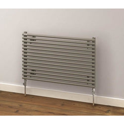 Battersea Double Horizontal Radiator - 404mm H x 1400mm W