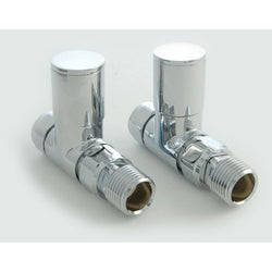 Essential Manual Straight Modern Radiator Valves