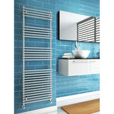 Altona Towel Rail - 800mm High x 600mm Wide - White