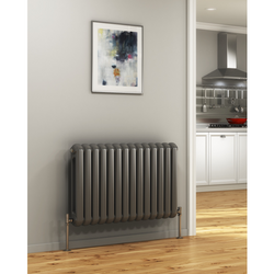 Cassius Horizontal Radiator - 550mm High x 785mm Wide