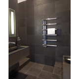 Bisque Chime Towel Rail Radiator - 1000mm High x 500mm Wide